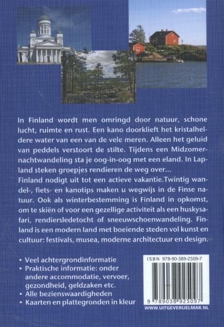 Reishandboek Finland : praktische en culturele reisgids met alle bezienswaardigheden