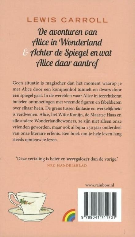 De avonturen van Alice in Wonderland ; Achter de Spiegel en wat Alice daar aantrof