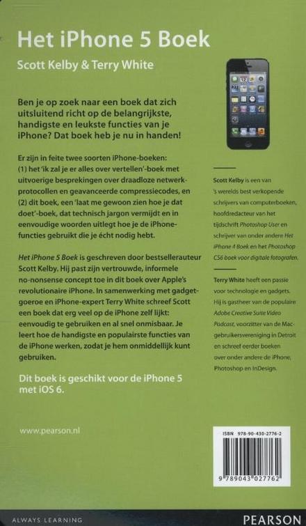 Het iPhone 5 boek : de belangrijkste en leukste dingen die je met de iPhone kunt doen