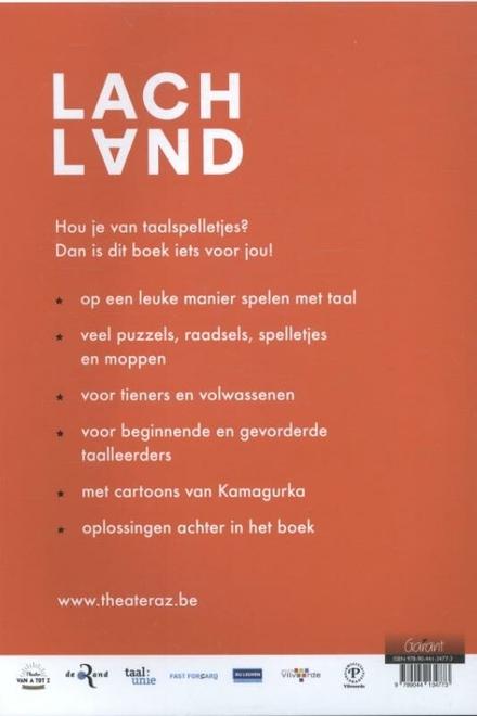 Lachland : puzzels, raadsels en spelletjes voor wie van Nederlands houdt