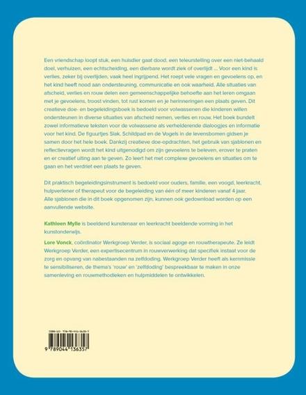 Afscheid voor kids : creatief doe- en begeleidingsboek bij afscheid en verlies