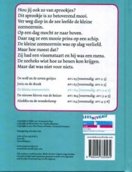 De kleine zeemeermin : een sprookje van Hans Christian Andersen
