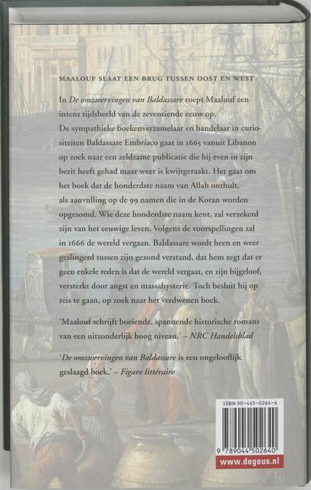 De omzwervingen van Baldassare : 1666 - het jaar van de antichrist