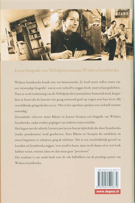 Wislawa Szymborska : prullaria, dromen en vrienden : biografie