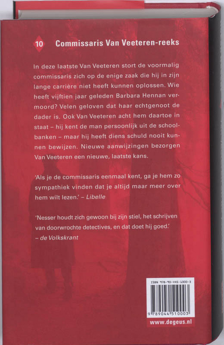 Van Veeteren en de zaak-G.