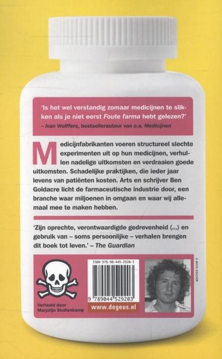 Foute farma : hoe patiënten worden misleid met foute medicijnen