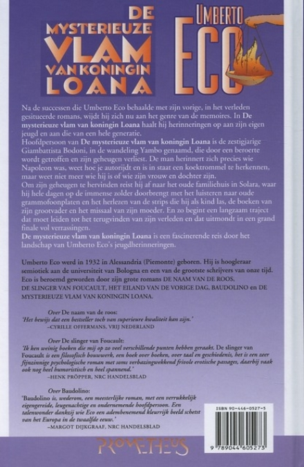 De mysterieuze vlam van koningin Loana