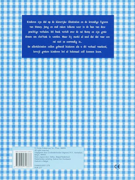 Ratatouille : groot verhalenboek
