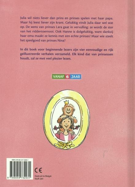 Prinsessenverhalen voor beginnende lezers