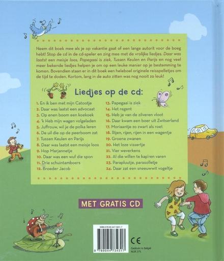 Reuzeleuke kinderliedjes en spelletjes voor onderweg