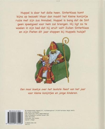 Sint en Piet bij Kleine Huppel