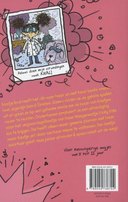 Het dolle dagboek van Kaatje Knal : de geheime missie