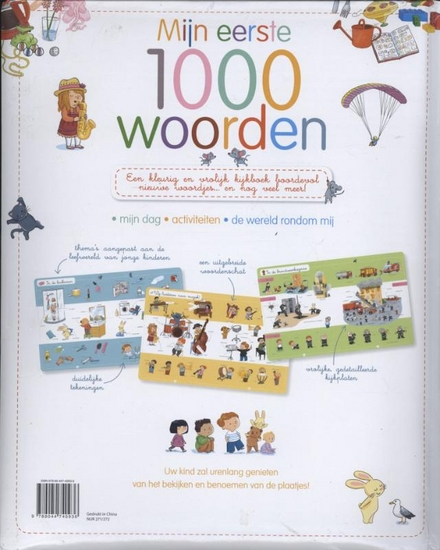 Mijn eerste 1000 woorden : een leuk kijkwoordenboek voor de allerkleinsten!