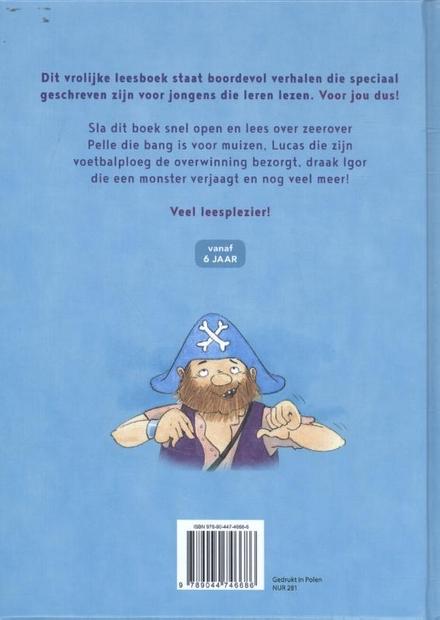 Allereerste leesboek voor jongens : eenvoudige verhalen voor beginnende lezers