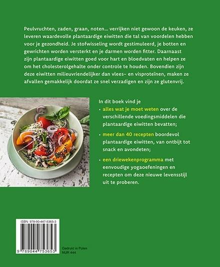 Fit en gezond met plantaardige eiwitten : linzen, erwten, tofoe... zo kom je aan voldoende proteïnen zonder vlees