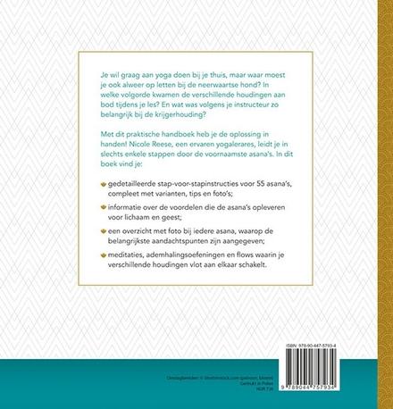 Praktisch handboek yoga : de belangrijkste asana's stap voor stap uitgelegd