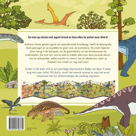 De wereld van de dinosaurussen : ga mee op een boeiende ontdekkingsreis naar de oertijd!