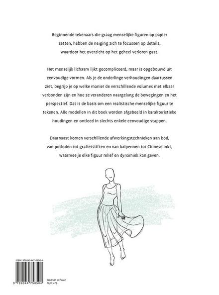 Stap voor stap mensen leren tekenen : modellenboek voor beginnende tekenaars