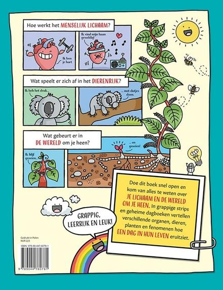 Een dag in het leven van... : het knotsgekke weetjesboek over het leven op aarde