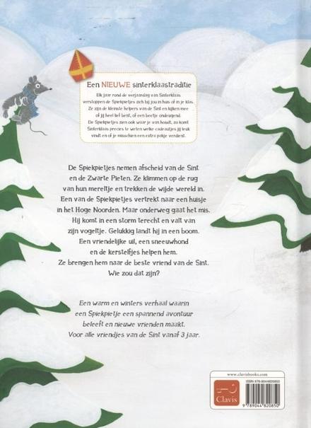 Spiekpietje in nood : een nieuwe sinterklaastraditie