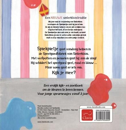Kleurtjes zoeken met Spiekpietje : zoekboek