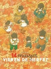 14 muisjes vieren de herfst