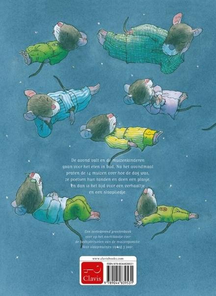 14 muisjes gaan naar bed