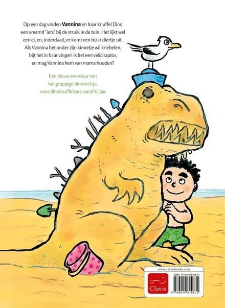 Dinomeisje en het mysterieuze ei