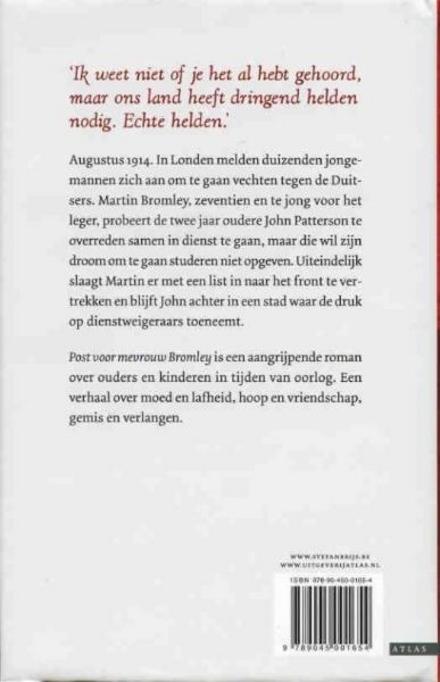Post voor mevrouw Bromley : roman