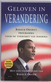 Geloven in verandering : Barack Obama's programma voor de toekomst van Amerika