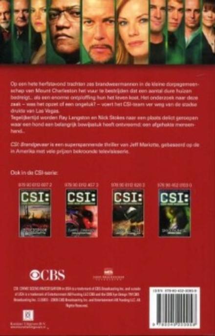 CSI : brandgevaar