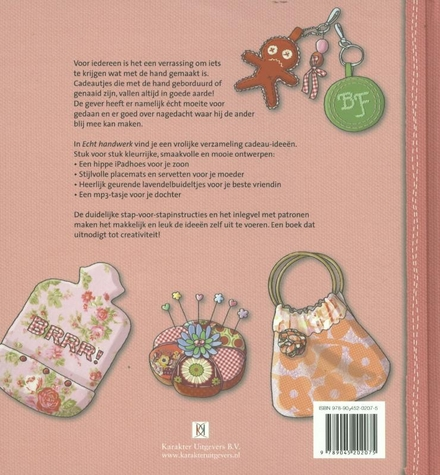 Echt handwerk! : originele borduur- en naaiwerkstukken om cadeau te geven
