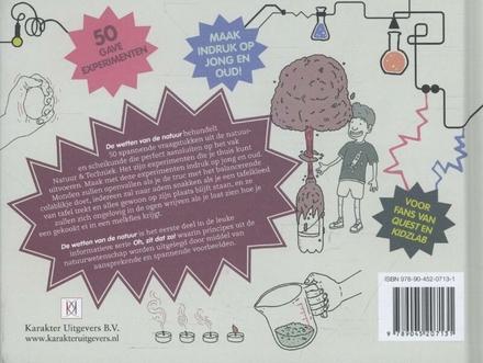De wetten van de natuur : 50 gave, wetenschappelijke experimenten voor kinderen van alle leeftijden