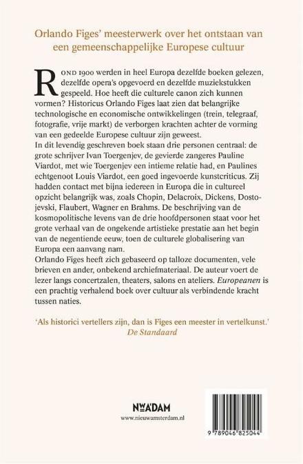 Europeanen : het ontstaan van een gemeenschappelijke cultuur