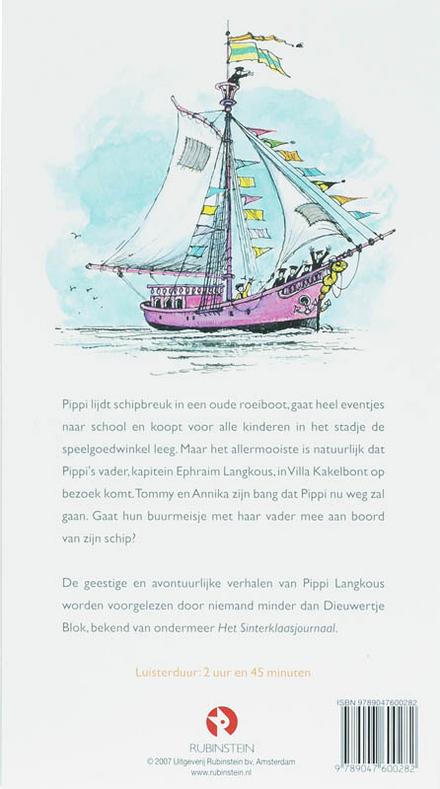 Pippi gaat aan boord