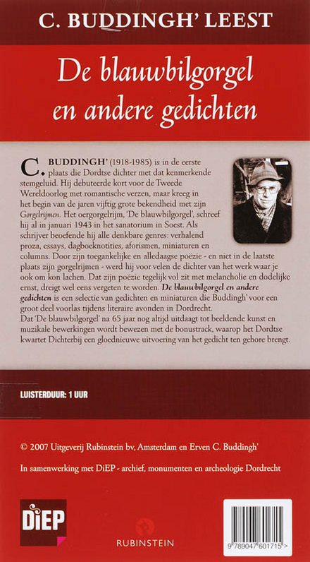 C. Buddingh' leest De blauwbilgorgel en andere gedichten