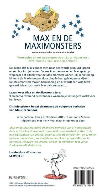 Max en de maximonsters en andere verhalen van Maurice Sendak