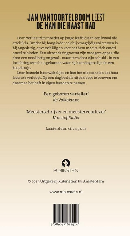 Jan Vantoortelboom leest De man die haast had