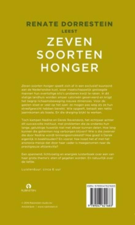 Renate Dorrestein leest Zeven soorten honger