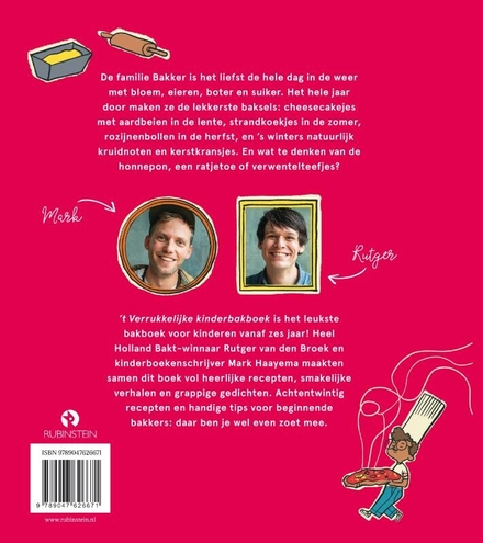 't Verrukkelijke kinderbakboek