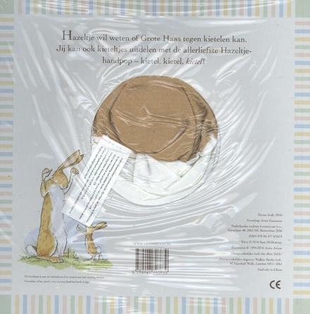 Nog één kieteltje : raad eens hoeveel ik van je hou : handpopboek