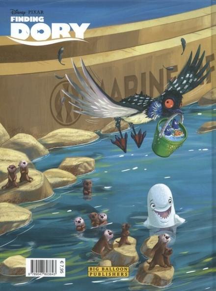 Finding Dory : het verhaal van de film in strip!
