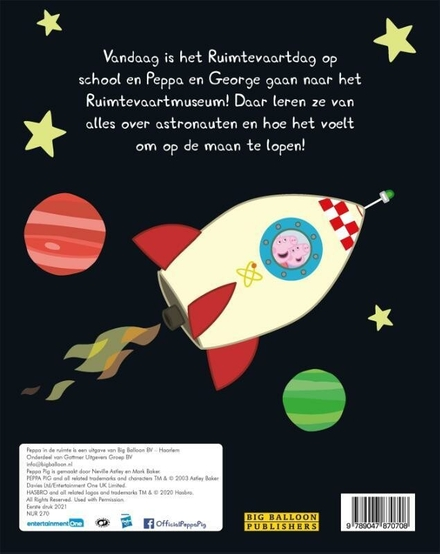 Peppa in de ruimte