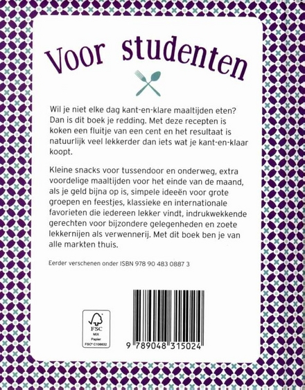 Voor studenten : voordelig en gemakkelijk