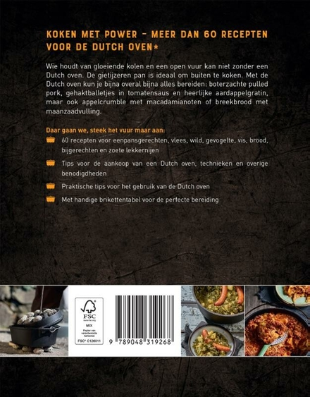 Dutch Oven : recepten, tips en hete kolen