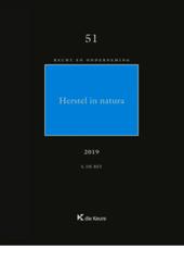 Herstel in natura : rechtsvergelijkende studie in het contractenrecht met buitencontractuele invalshoek