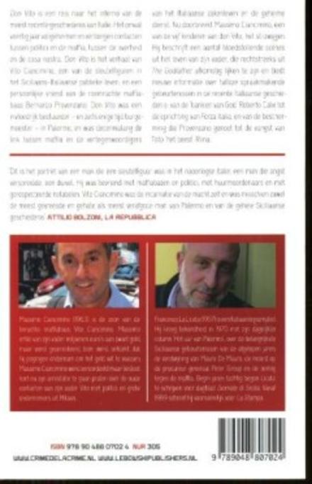 Don Vito : de geheime contacten tussen staat en maffia, verteld door een uitzonderlijke getuige