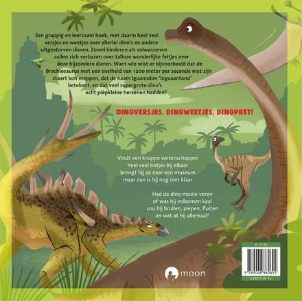 Het dikke dinoboek : leerzame versjes en bijzondere weetjes over fantastische dino's en andere dieren van heel lang...