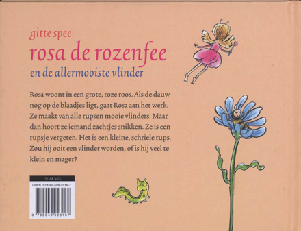 Rosa de rozenfee en de allermooiste vlinder