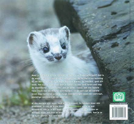 Struikrovers : over wezel, hermelijn, otter, das en andere dappere marters